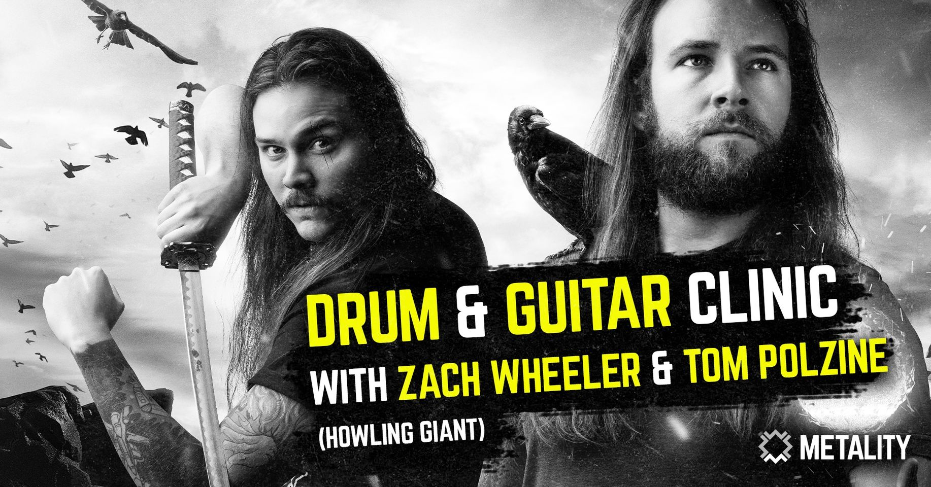 Drum & Guitar Clinic with Howling Giant's Zach Wheeler & Tom Polzine